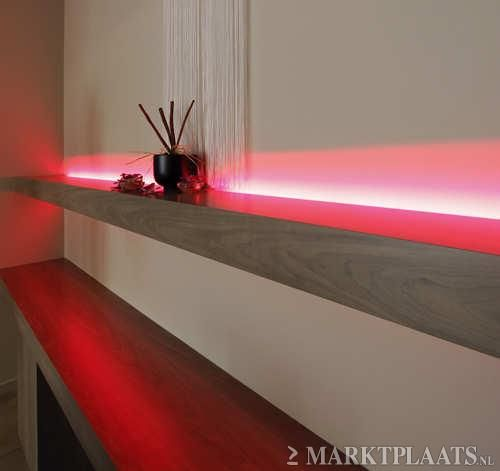 vensterbank led strip verlichting