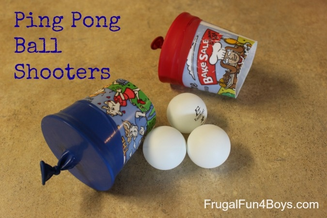 Ping Pong Ball Shooters