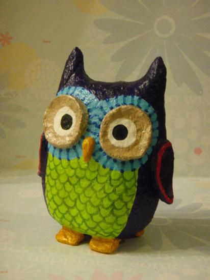 """Whimsy Owl"" by Holly St.Denis"