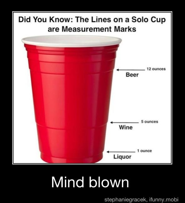 Who knew the red solo cup was a practical cup?