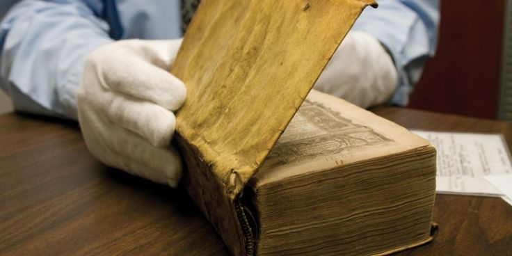 Harvard discovers three of its library books are bound in human flesh