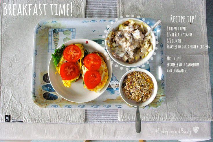 Healthy breakfast tip on my blog! http://findingjoyandbeauty.blogspot.fi/2013/10/in-kitchen-pretzel-recipe.html