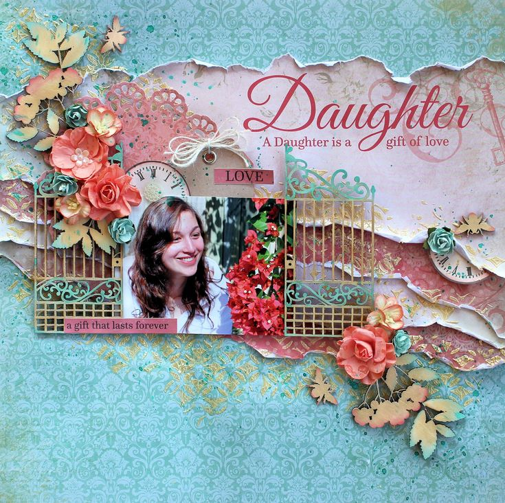 Daughter - Kaisercraft Generations - Scrapbook.com