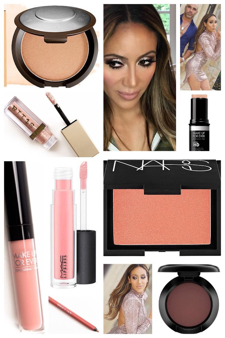 Melissa Gorga's Season 8 Finale Makeup (yes, Sally and I are BOTH psychics ;-p) Real Housewives of New Jersey http://www.bigblondehair.com/makeup/melissa-gorgas-season-8-finale-makeup/