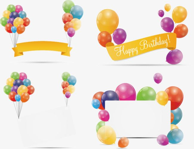 Birthday Banner Material Beautiful Balloon Material Happy