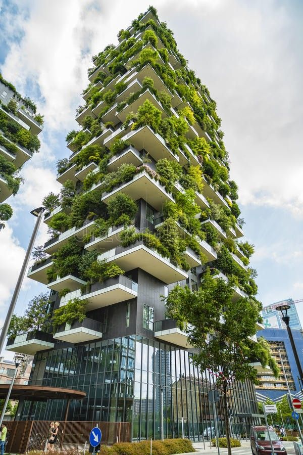 Bosco Verticale by Stefano Boeri (With images) Green