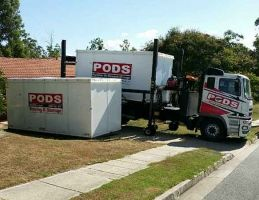 PODS Moving and Storage container delivery
