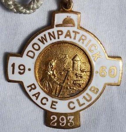 Annual badge - Downpatrick 1960