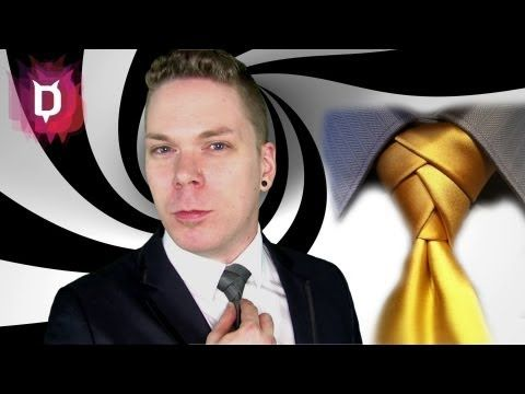 Eldredge Krawattenknoten - Krawatte binden Anleitung deutsch - YouTube
