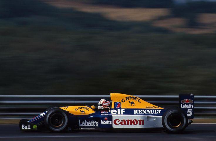 Nigel Mansell, Canon Williams-Renault FW14B, 1992 Portuguese Grand Prix, Estoril
