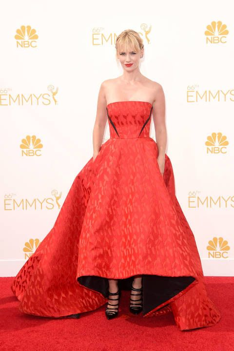 The 20 Sexiest Women of the 2014 Emmys Red Carpet January Jones