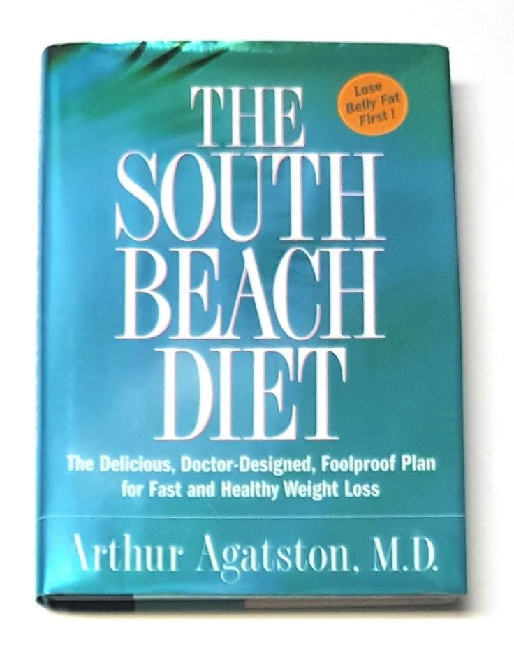 The South Beach Diet by Arthur Agatston Weight Loss Plan Recipes Hardcover   | eBay
