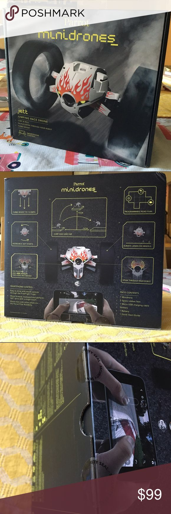 """Parrot jumping mini drone """"Jett"""" Hello there, I won this and other items at the Ellen Show and I am not much into these things but they retail at more than $200. Any questions lets me know :) Other"""
