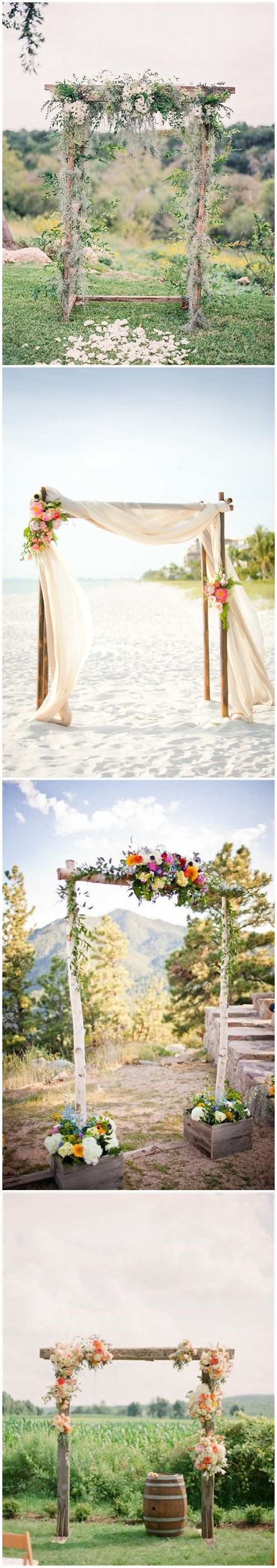 25 b sta wedding arches id erna p pinterest br llop for Arches decoration ideas