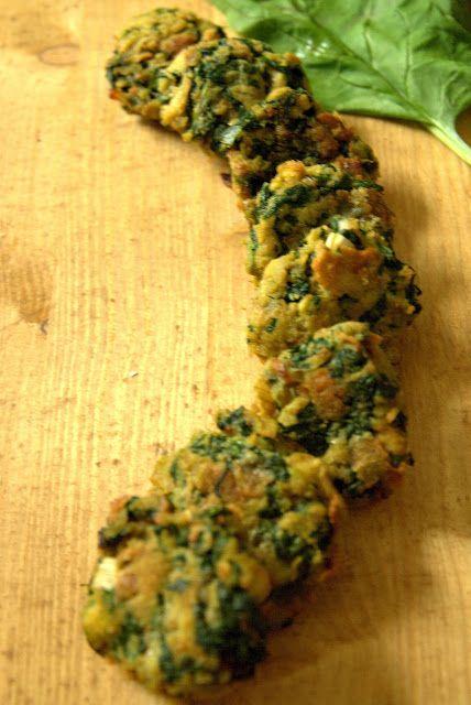 Mindennapi ételeink: Spenótfasírt