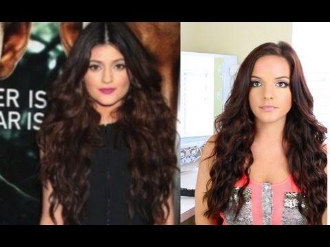 ▶ Big Hair Tutorial: Kylie Jenner Inspired - YouTube