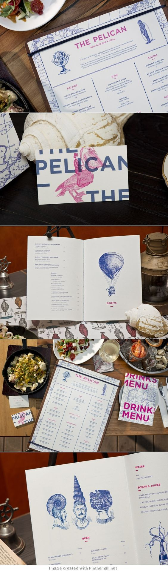 The Pelican Restaurant Branding by Foreign Policy | Fivestar Branding – Design and Branding Agency & Inspiration Gallery