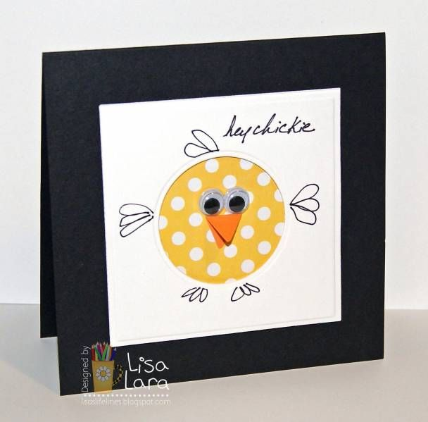 CAS152 CIRCLE CHICK by lisa lara - Cards and Paper Crafts at Splitcoaststampers