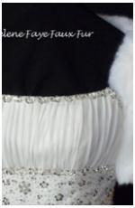 Faux Fur Wrap @ Brides Of Beecroft