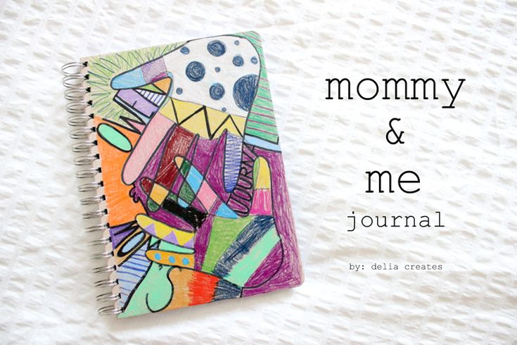 STL: Mommy and Me journal with Delia from Delia Creates - It's Always Autumn