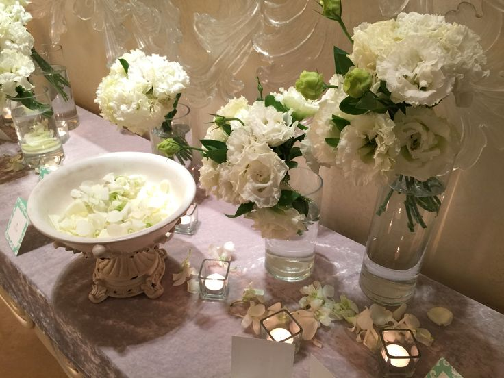 The Raum - Photo Table  #Welcome_Flower #welcome #flower #party #photo_table
