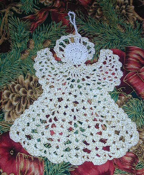 angeles tejidos a crochet