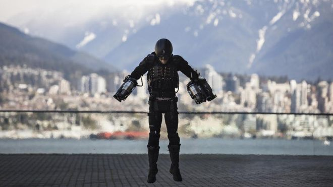 "A British inventor, who built an Iron Man-style flight suit, has flown it at the Ted (Technology, Entertainment and Design) conference in Vancouver. Since he posted the video of his maiden flight in the UK, Mr Browning has had huge interest in his flying suit. But he insists the project remains ""a bit of fun"" and is unlikely to become a mainstream method of transportation. #ironman #fly #technology #gravity #vancouver"
