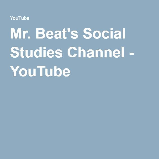 Mr. Beat's Social Studies Channel - YouTube