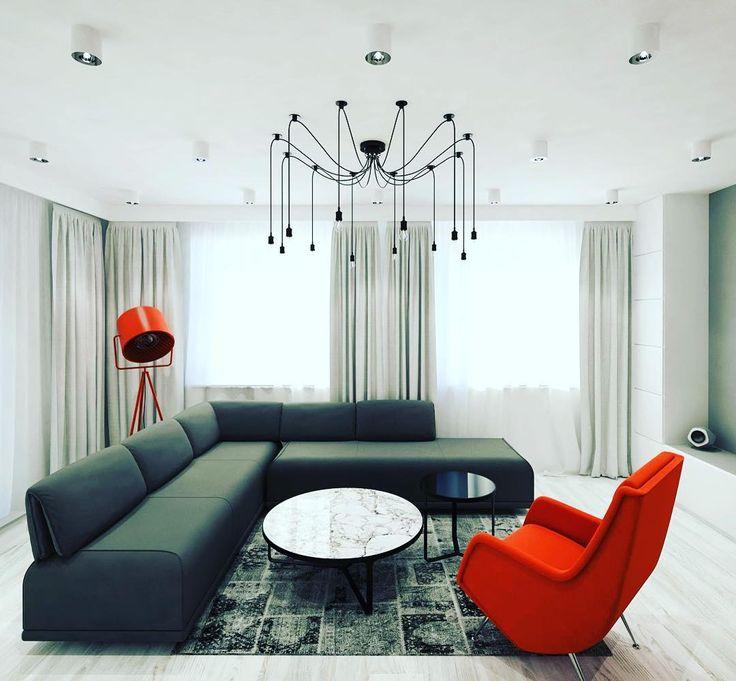 Industrialna lampa typu #pająk dostępna w naszym e-sklepie mlamp.pl #lampaindustrialna #lampapajak #stylindustrialny #wystrojwnetrz #homedesign #rozswietlamywnetrza #mlamp