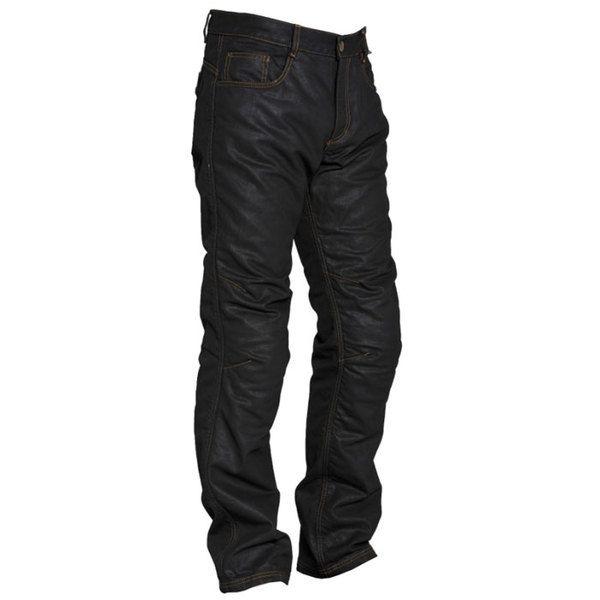 SEGURA pantalon jeans BOWER moto scooter homme noir