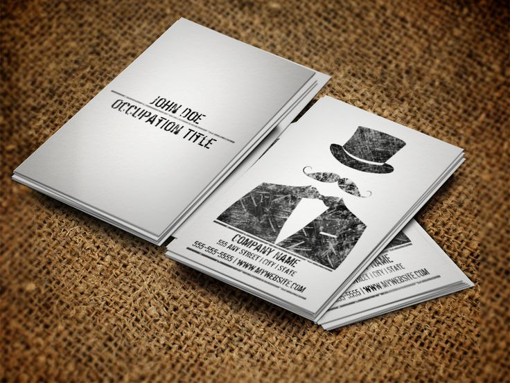 66 best creative business card templates images on pinterest fun moustache chauffeur business card available at httpzazzle colourmoves