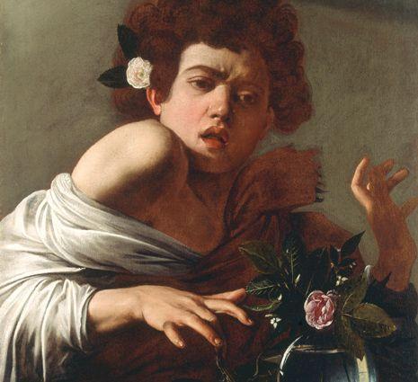 Boy Bitten by a Lizard by Caravaggio...my favoritr Italian baroque artist
