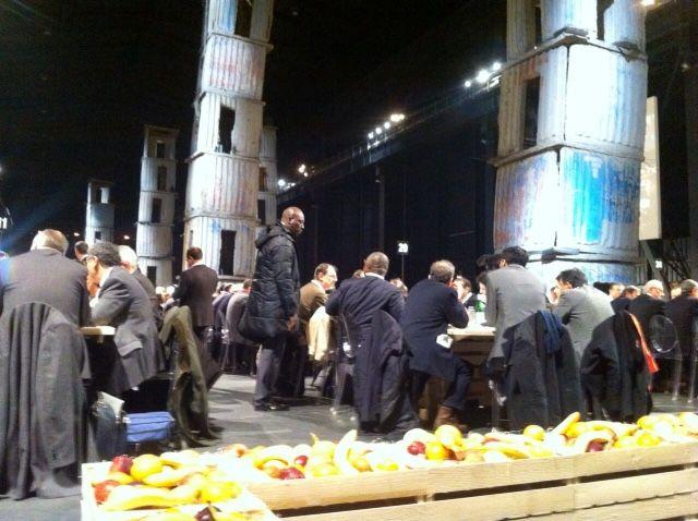 Scenografia suggestiva per la giornata Expo delle idee: le torri di Anselm Kiefer. #expoidee #expo2015 #milano #AnselmKiefer #art #contemporaryart #alimentazione #futuro