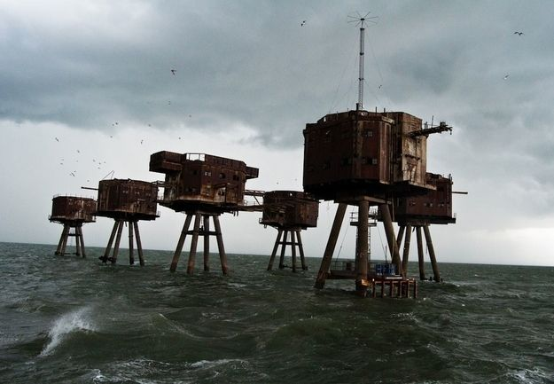 Les Forts Maunsell en Angleterre