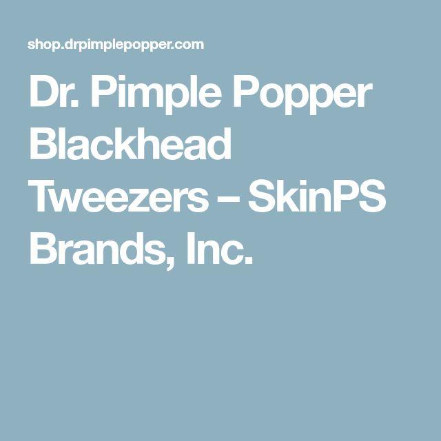 Dr. Pimple Popper Blackhead Tweezers – SkinPS Brands, Inc.