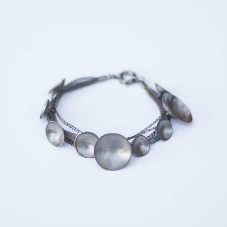 Lia Gonçalves | Joalharia de Autor _ bracelet _ moon collection _ silver