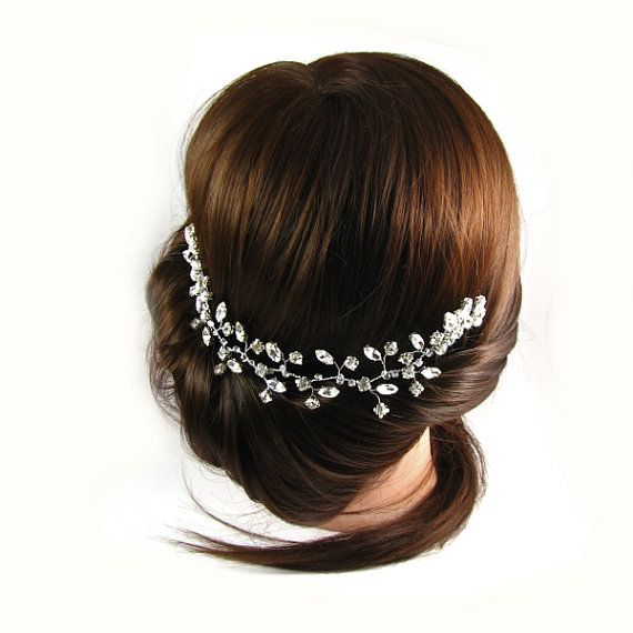 Check out this item in my Etsy shop https://www.etsy.com/listing/462509532/wedding-headband-bridal-head-piece-hair