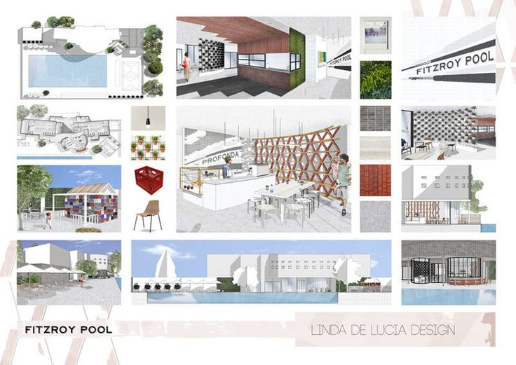 Fitzroy Pool Project By Linda De Lucia