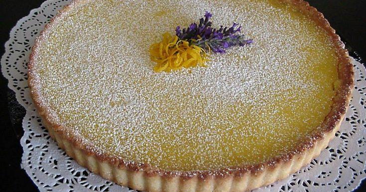 Lemon Tart (Delia Smiths)  ========================= For the pastry base: 6 oz (175 g) plain flour 1½ oz (40 g) icing sugar 4-1/2 oz (75 g...