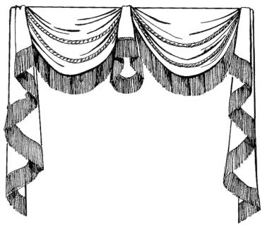 173 best Curtain Illustrations images on Pinterest