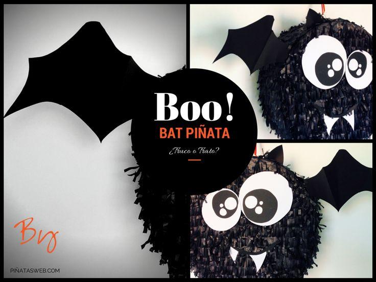 Piñata Halloween... Bat Piñata o Piñata Murciélago idela para Halloween y el truco o trato? trick or treat? https://www.facebook.com/ppinatas/photos/a.1391321507793915.1073741828.1391311921128207/1497842343808497/?type=1&theater