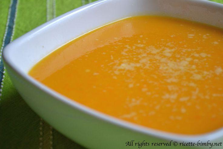 Crema di carote e zucca Bimby • Ricette Bimby