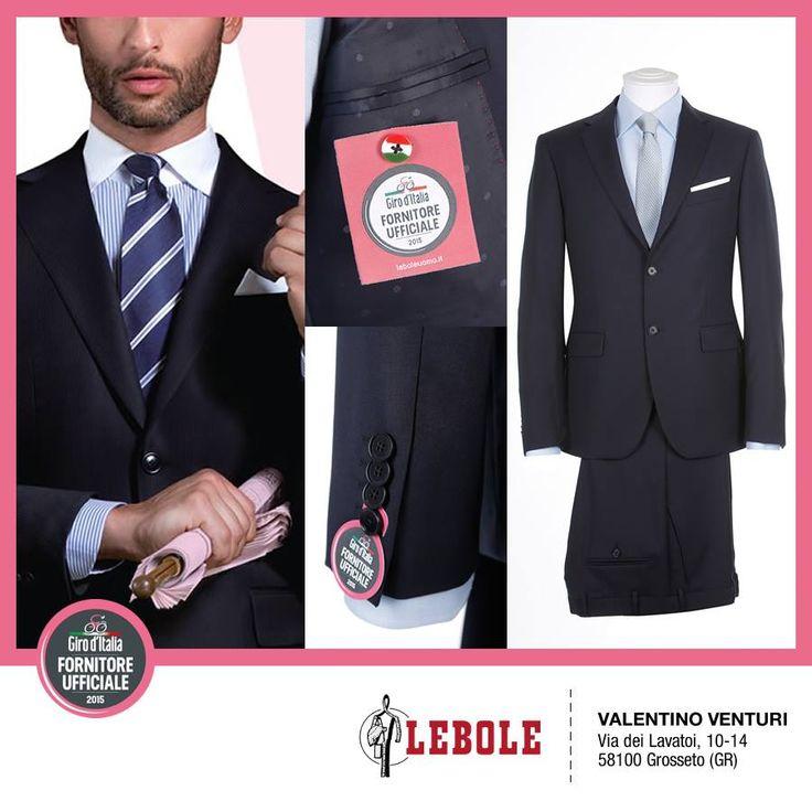 VALENTINO VENTURI, di Grosseto - I nostri Clienti festeggiano il Giro d'Italia 2015 e presentano l'abito esclusivo prodotto da LEBOLE per il Giro #lebolegiro2015 #lebole #abito #modauomo #fashion #stile