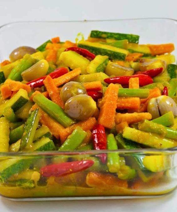 Resep Acar Kuning Kenari Resepkoki Co Makanan Ringan Sehat Resep Masakan Malaysia Resep