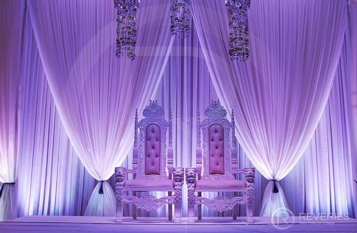 Reveries Events - Beautiful draping for a wedding at The Grand Brighton