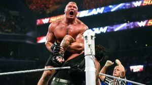 Brock Lesnar touted as 'WWE Superstar' in latest UFC 200 promo