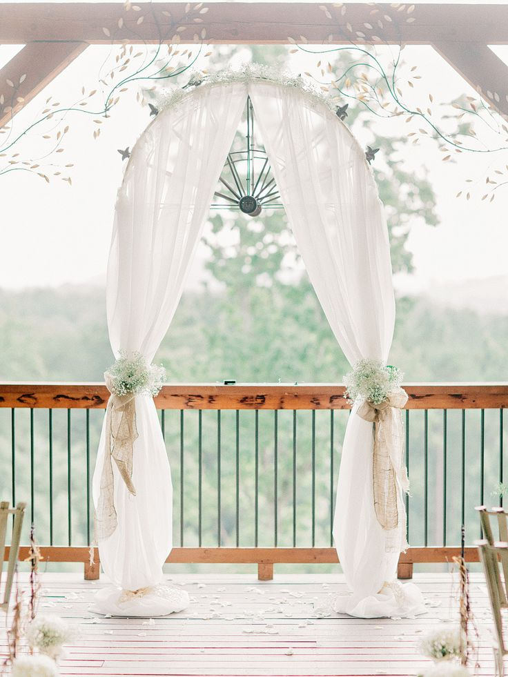 25 best ideas about simple wedding arch on pinterest for Archway decoration ideas