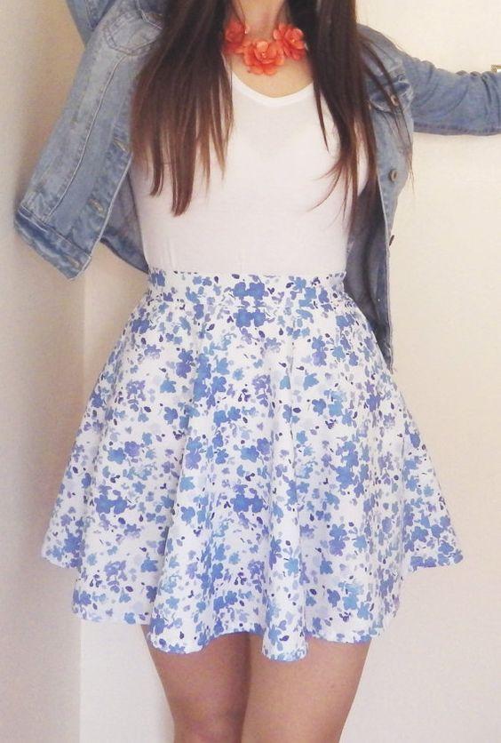 cute outfits with high waisted skirts wwwimgkidcom