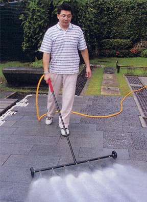 Badass+Garden+Hoses+-+The+Turbo+Jet+Water+Broom+Lets+You+Blast+Your+Patio+Clean+(GALLERY)