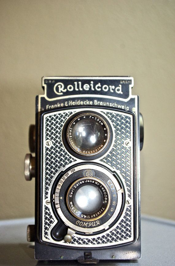 Rare Vintage Art Deco Rolleicord Camera c by ShopCallieCoVintage, $175.00